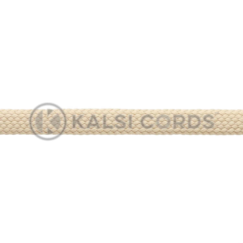 Cream 7mm Thin Flat Shoe Laces – Kalsi