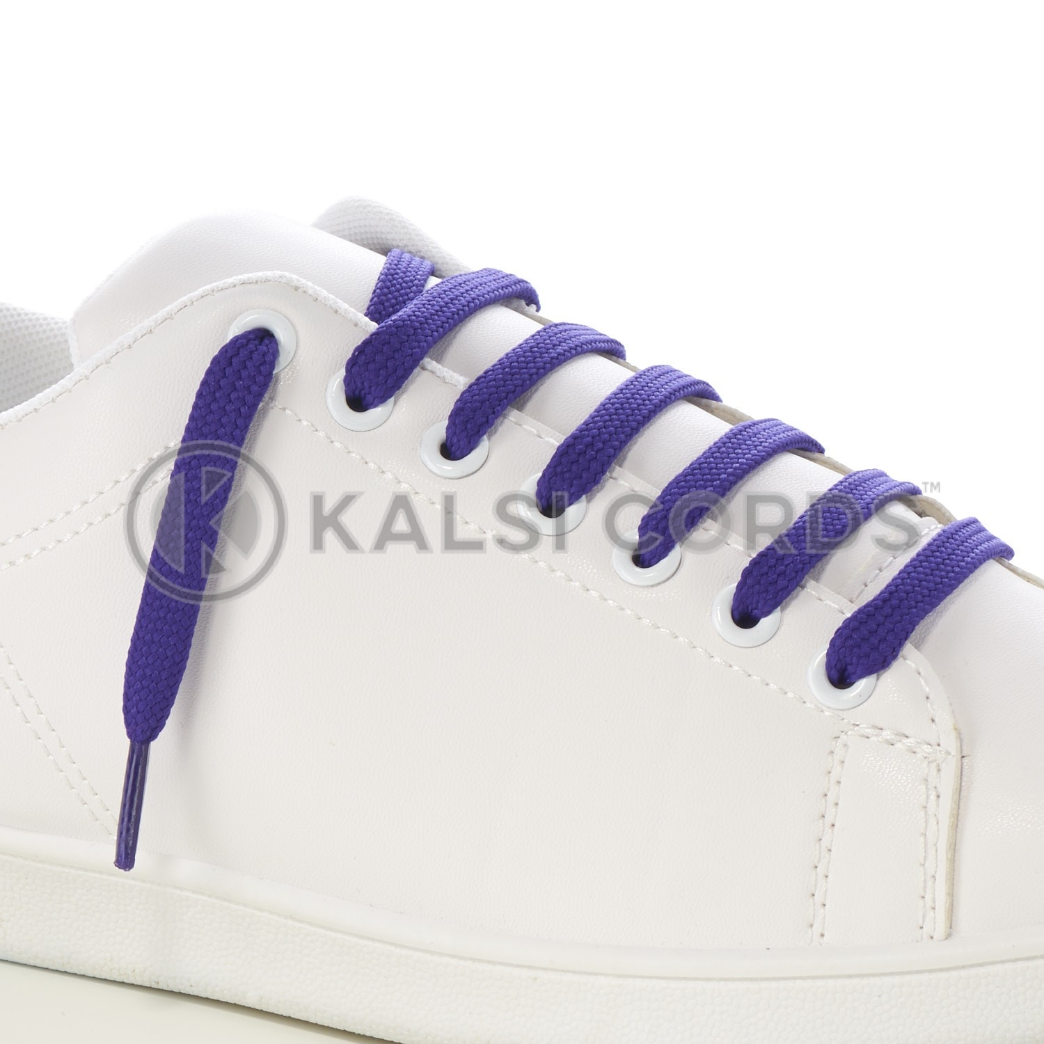 9mm Flat Shoe Laces Tubular Purple PG3112 Sports Trainers Boots Footwear Drawstring Drawcord