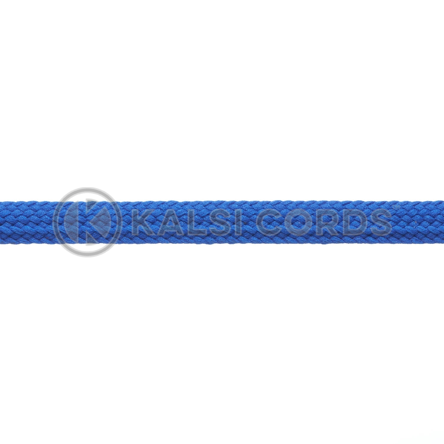 9mm Flat Shoe Laces Tubular Royal Blue PG790 Sports Trainers Boots Footwear Drawstring Drawcord