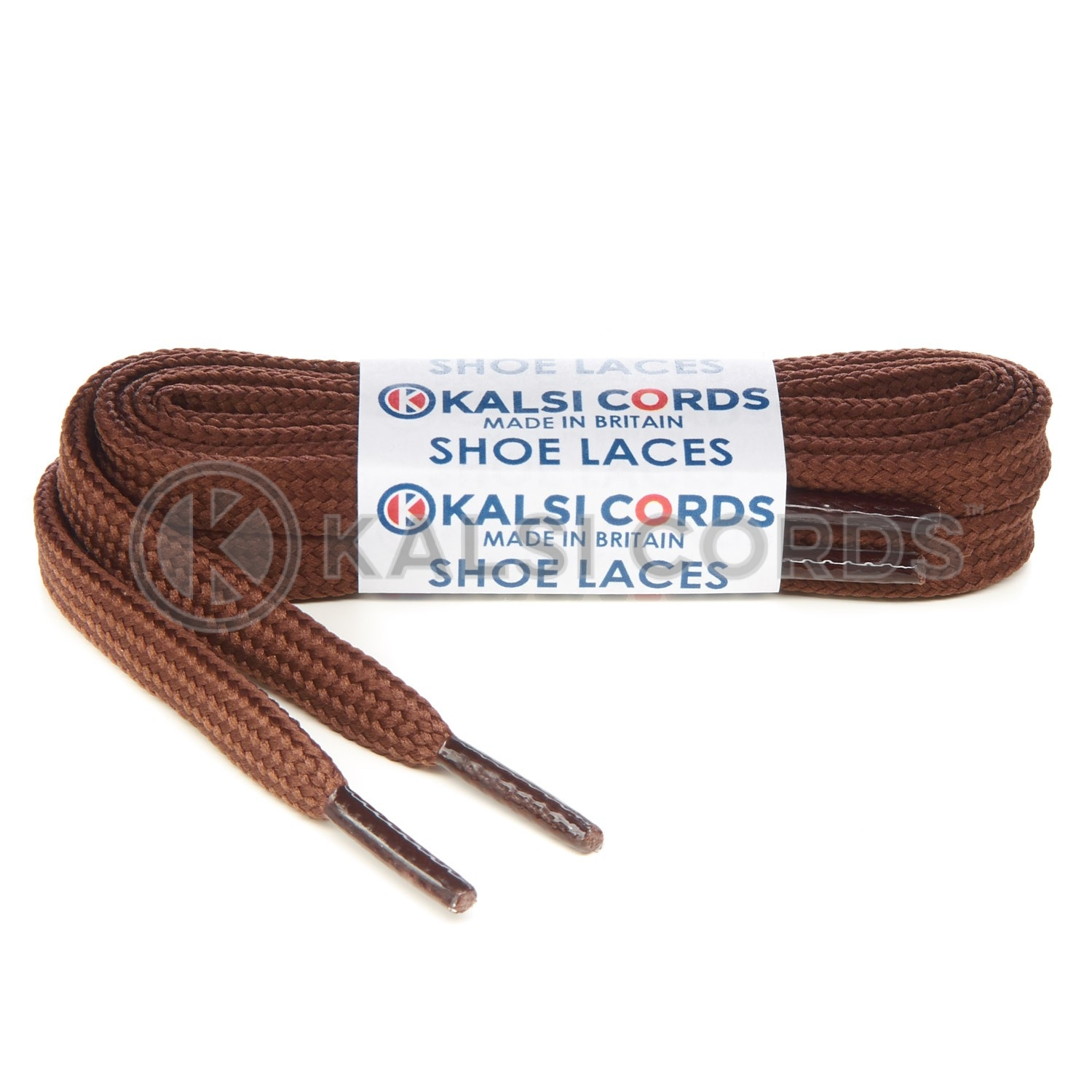 R1176 9mm Flat Shoe Laces Tubular York Brown PG656 Sports Trainers Boots Footwear Hoodies Joggers Drawstring Drawcord Braid