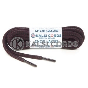 T621 5mm Round Cord Fleck Shoe Laces Black Porto Kids Trainers Adults Hiking Walking Boots Kalsi Cords