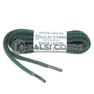 Fleck Cedar Green with Grey Shoe Laces 1 Kalsi Cords