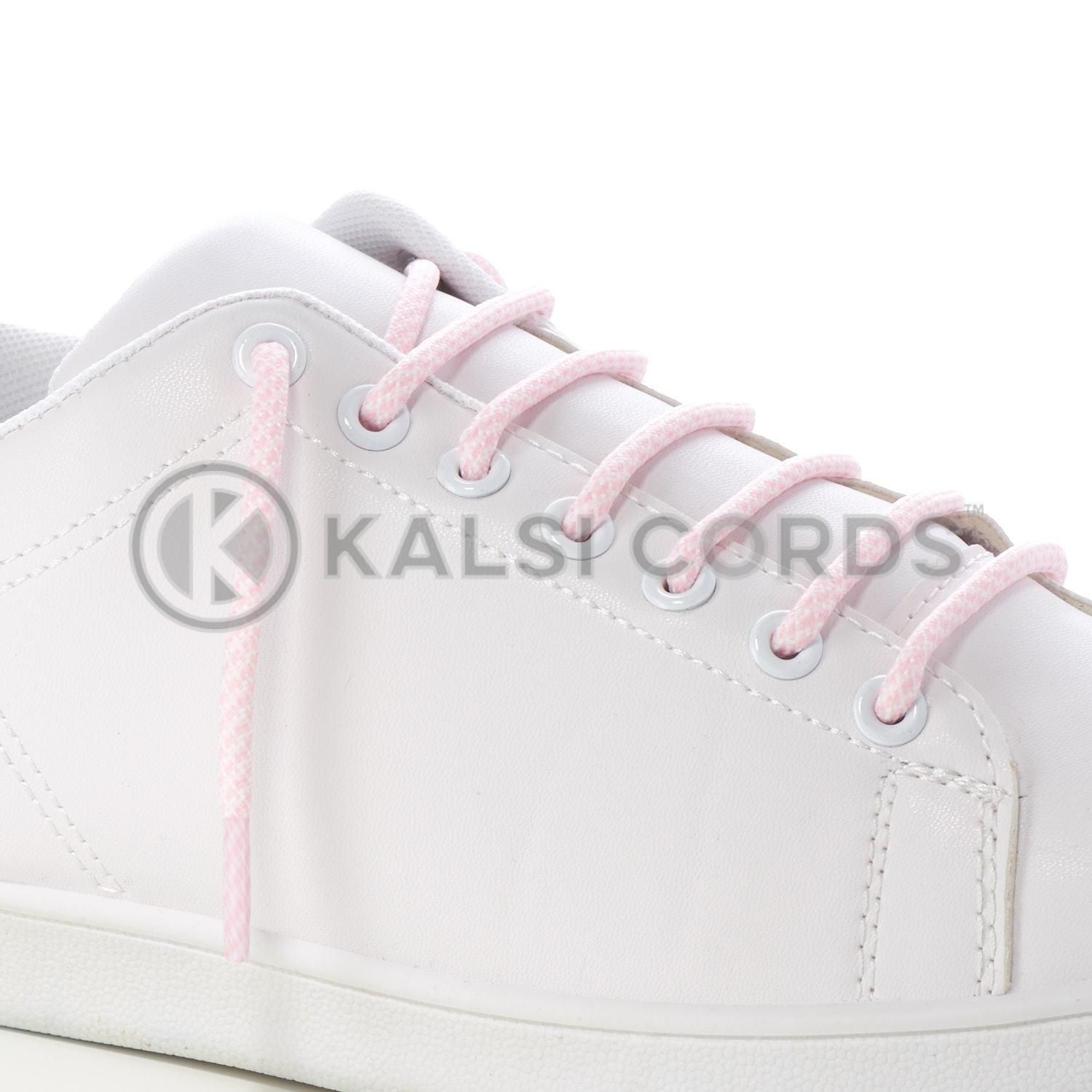 T655 5mm Round Cord Honeycomb Shoe Lace Baby Pink White Kids Trainers Adults Adidas Yeezy Boost Hiking Walking Boots Kalsi Cords