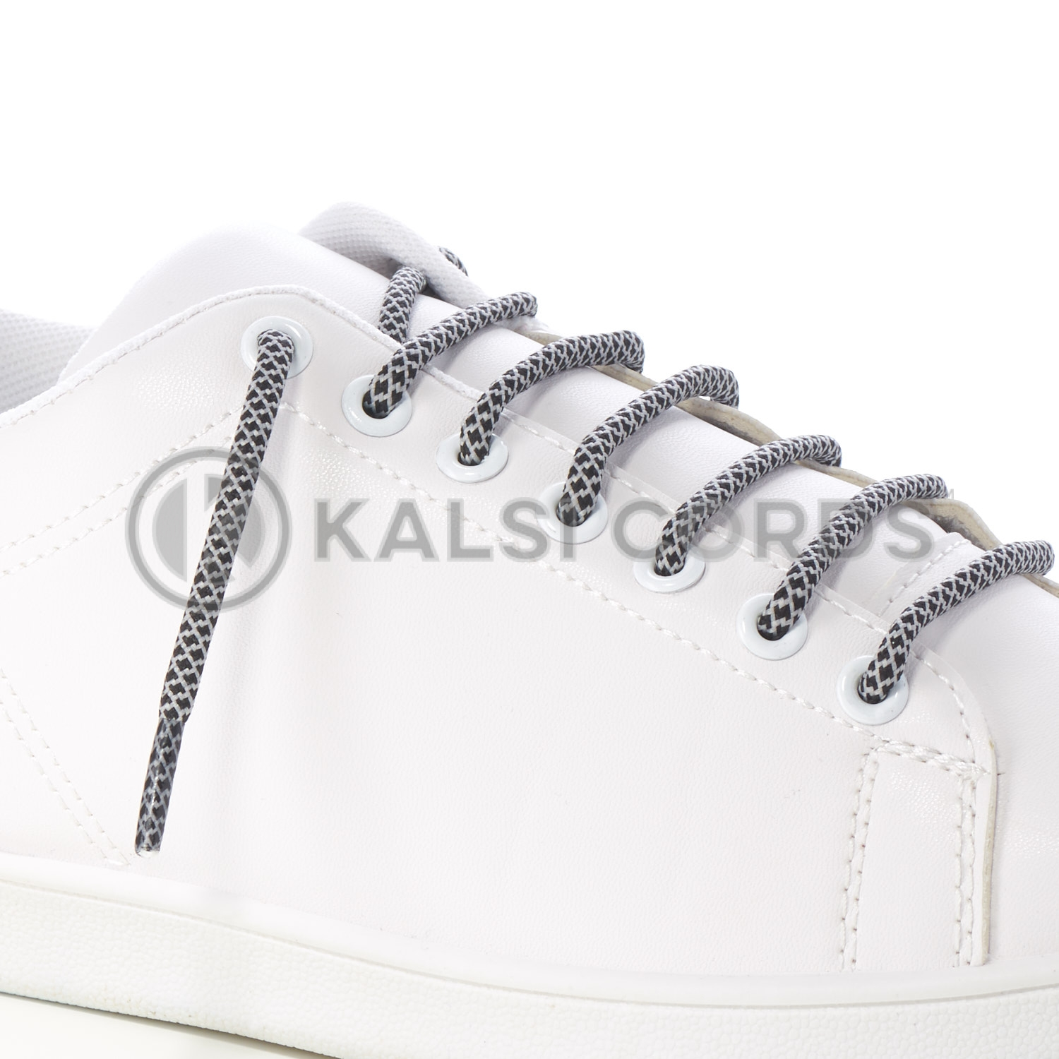 T655 5mm Round Cord Honeycomb Shoe Lace Black Light Grey Kids Trainers Adults Adidas Yeezy Boost Hiking Walking Boots Kalsi Cords
