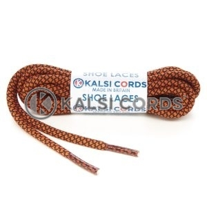 T655 5mm Round Cord Honeycomb Shoe Laces Orange Black Kids Trainers Adults Adidas Yeezy Boost Hiking Walking Boots Kalsi Cords