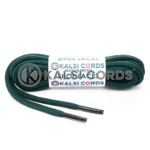 T621 5mm Round Cord Shoe Laces Cedar Green PG658 Kids Trainers Adults Hiking Walking Boots Kalsi Cords