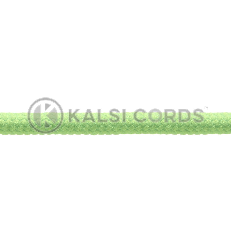 Kalsi Cords Fluorescent Lime Round Cord Shoe Laces 3
