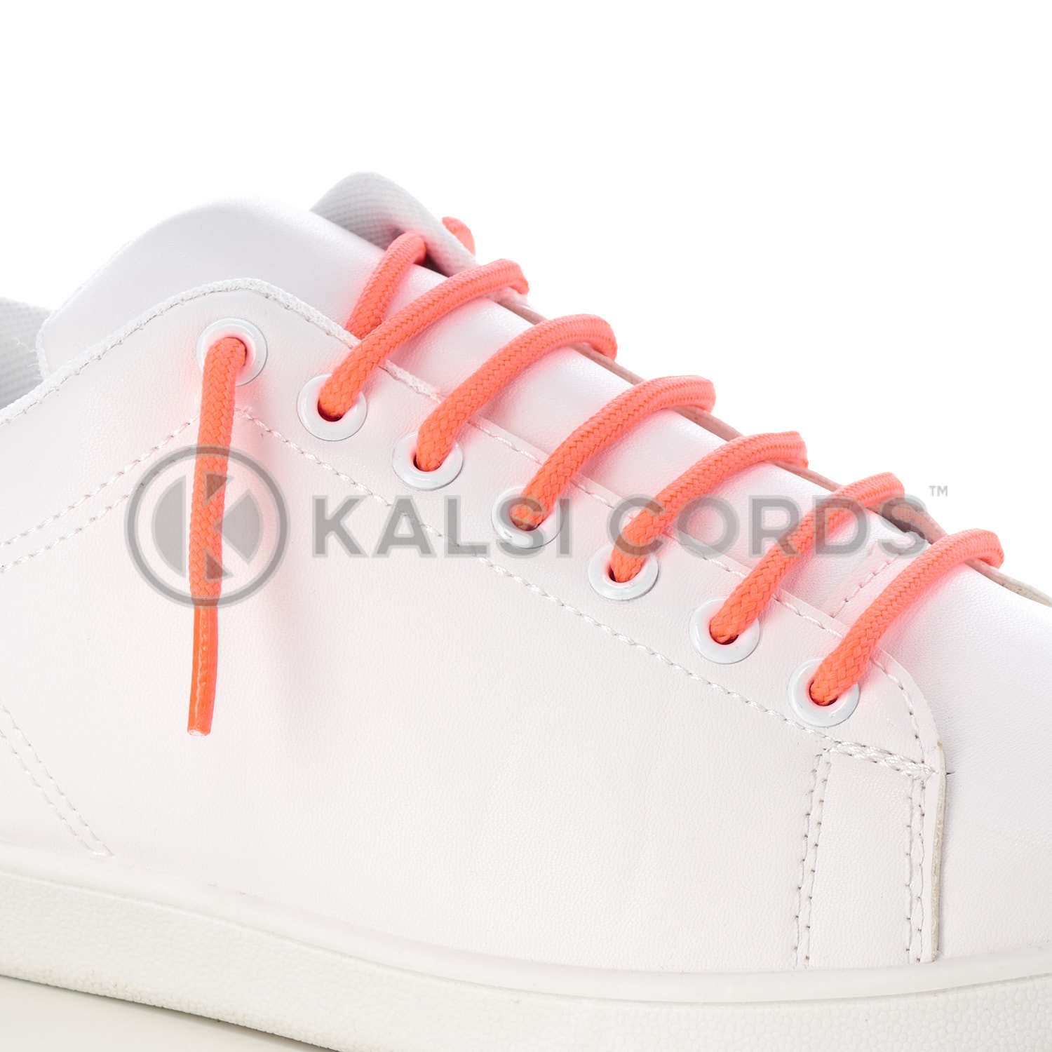 T621 5mm Round Cord Shoe Laces Fluorescent Neon Pink PG052 Kids Trainers Adults Hiking Walking Boots Kalsi Cords