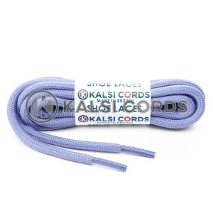 T621 5mm Round Cord Shoe Laces Lilac PG744 Kids Trainers Adults Hiking Walking Boots Kalsi Cords