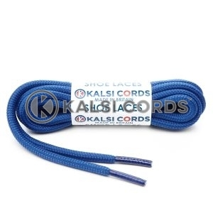 T621 5mm Round Cord Shoe Laces Royal Blue PG790 Kids Trainers Adults Hiking Walking Boots Kalsi Cords