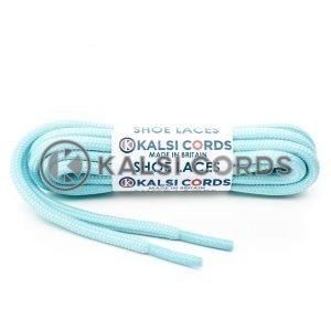 T621 5mm Round Cord Shoe Laces Turquoise PG390 Kids Trainers Adults Hiking Walking Boots Kalsi Cords