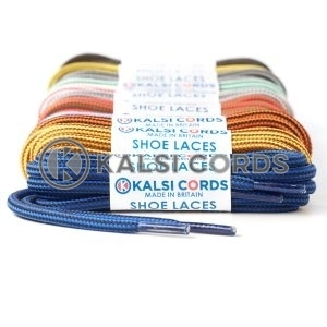 Stripe Pattern 5mm Round Cord Shoe Laces