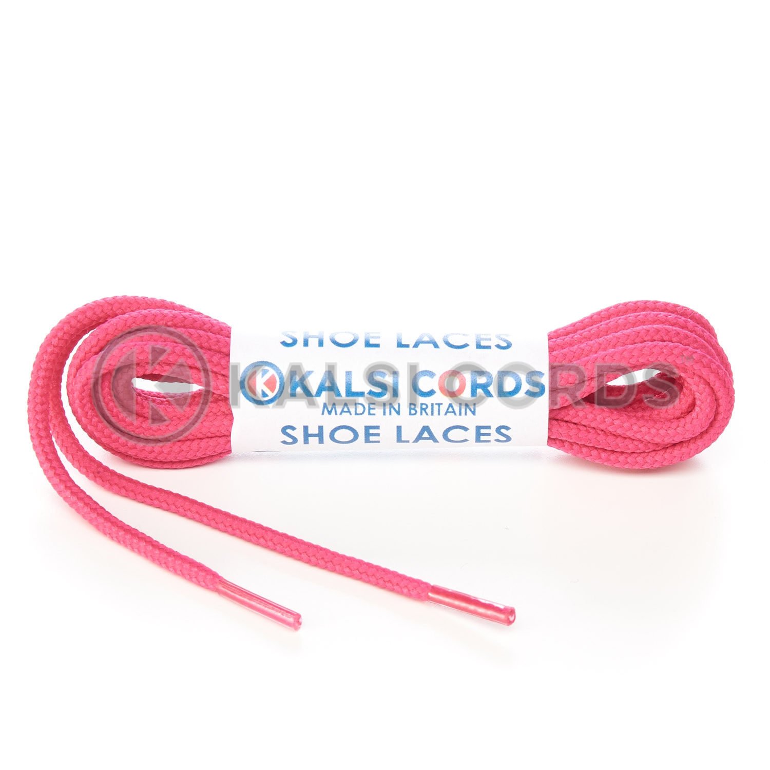 T460 2mm Thin Fine Round Cord Shoe Laces Cerise Pink PG391 Kids Trainers Adults Brogue Formal Boots Kalsi Cords