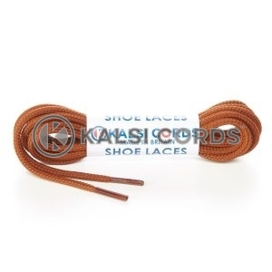 T460 2mm Thin Fine Round Cord Shoe Laces Nutmeg Brown PG935 Kids Trainers Adults Brogue Formal Boots Kalsi Cords