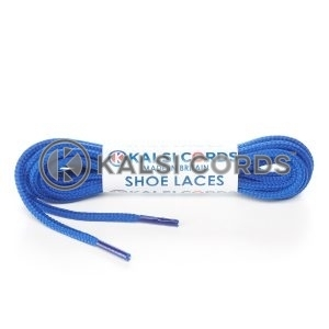 T460 2mm Thin Fine Round Cord Shoe Laces Royal Blue PG790 Kids Trainers Adults Brogue Formal Boots Kalsi Cords