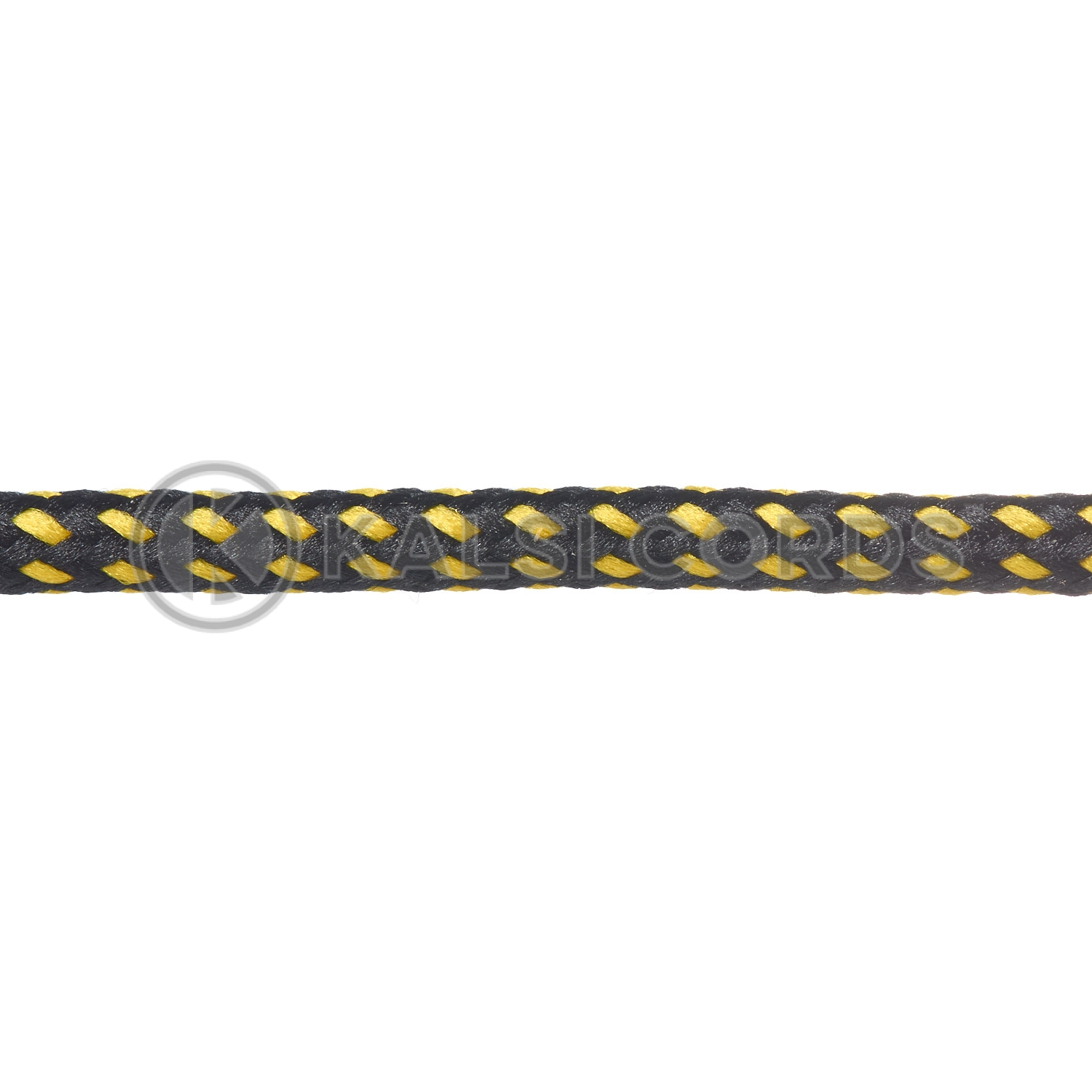 T621 5mm Round Cord Fleck Shoe Laces Black Yellow Kids Trainers Adults Hiking Walking Boots Kalsi Cords