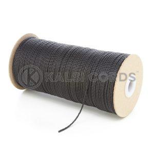 1.5mm Black Polypropylene Cord on Roll P348 Kalsi Cords
