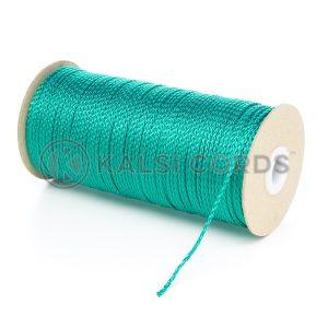 1.5mm Emerald Green Polypropylene Cord on Roll P348 Kalsi Cords