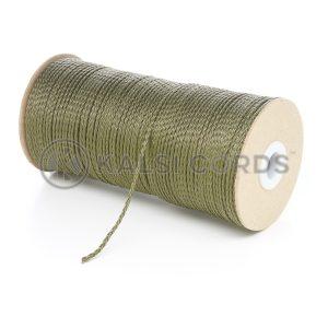 1.5mm Khaki Olive Polypropylene Cord on Roll P348 Kalsi Cords