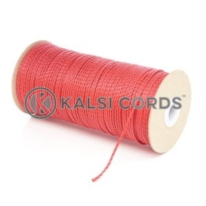 1.5mm Thin Red Polypropylene Cord String Rope Roll Spool P348 Kalsi Cords