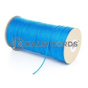 1.5mm Thin Royal Blue Polypropylene Cord String Rope Roll Spool P348 Kalsi Cords