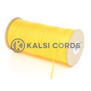 1.5mm Thin Yellow Polypropylene Cord String Rope Roll Spool P348 Kalsi Cords