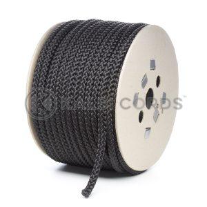 10mm Black Polypropylene Cord on Roll P254 Kalsi Cords
