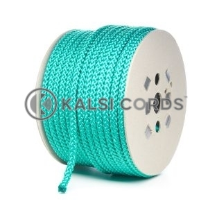 10mm Emerald Green Polypropylene Cord Rope Roll Spool P254 Kalsi Cords