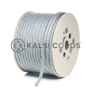 10mm Grey Silver Polypropylene Cord Rope Roll Spool P254 Kalsi Cords