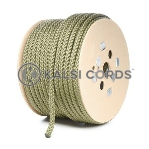10mm Khaki Olive Green Polypropylene Cord Rope Roll Spool P254 Kalsi Cords