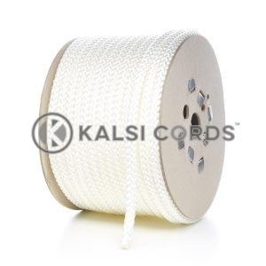 10mm Natural White Polypropylene Cord Rope Roll Spool P254 Kalsi Cords