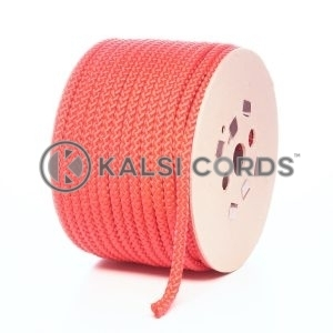 10mm Red Polypropylene Cord Rope Roll Spool P254 Kalsi Cords