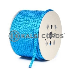 10mm Royal Blue Polypropylene Cord Rope Roll Spool P254 Kalsi Cords