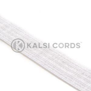 19mm Bonadex Waistband Elastic White Ecru by Kalsi Cords