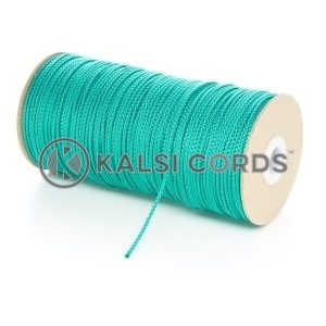 2mm Thin Emerald Green Polypropylene Cord String Rope Roll Spool P379 Kalsi Cords