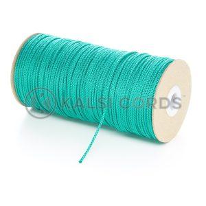 2mm Emerald Green Polypropylene Cord on Roll P379 Kalsi Cords