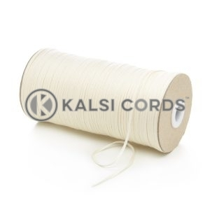 2mm Flat Cotton Braid Tape Cord Binding String Strapping TC13 Kalsi Cords
