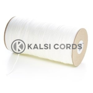 2mm Thin Natural White Polypropylene Cord String Rope Roll Spool P379 Kalsi Cords