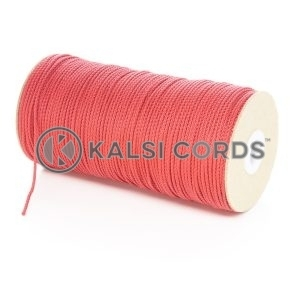 2mm Thin Red Polypropylene Cord String Rope Roll Spool P379 Kalsi Cords