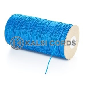 2mm Thin Royal Blue Polypropylene Cord String Rope Roll Spool P379 Kalsi Cords