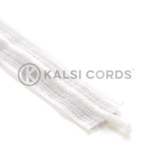 32mm Bonadex Waistband Elastic White Ecru with Drawstring Drawcord by Kalsi Cords