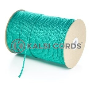 3mm Thin Emerald Green Polypropylene Cord String Rope Roll Spool P377 Kalsi Cords