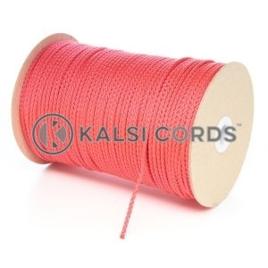 3mm Thin Red Polypropylene Cord String Rope Roll Spool P377 Kalsi Cords