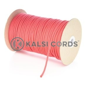 4mm Red Polypropylene Cord String Rope Roll Spool P299 Kalsi Cords
