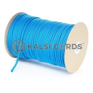 4mm Royal Blue Polypropylene Cord String Rope Roll Spool P299 Kalsi Cords