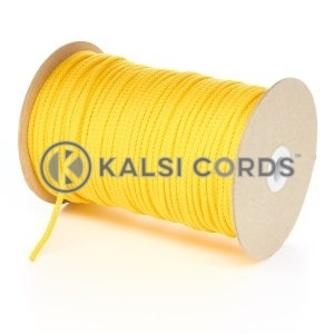 4mm Yellow Polypropylene Cord String Rope Roll Spool P299 Kalsi Cords