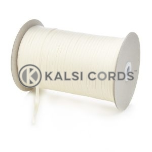 5mm Flat Cotton Braid Tape Cord Binding String Strapping TC16 Kalsi Cords