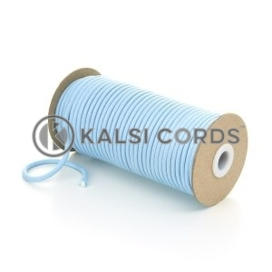 5mm Round Baby Blue Polyester Cord Braided String Drawcord Drawstring Joggers Hoody Bag T621 Kalsi Cords