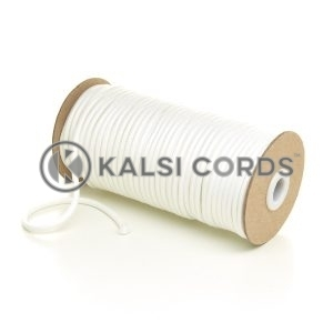 5mm Round Ecru Polyester Cord Braided String Drawcord Drawstring Joggers Hoody Bag T621 Kalsi Cords