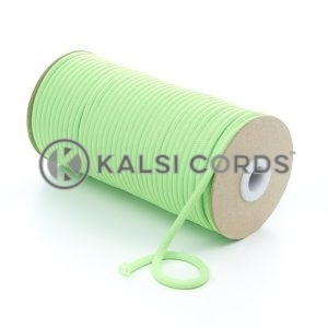 5mm Round Fluorescent Neon Lime Green Polyester Cord Braided String Drawcord Drawstring Joggers Hoody Bag T621 Kalsi Cords